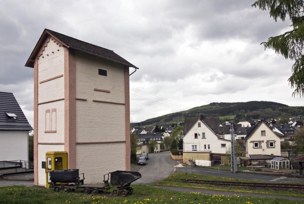 Das Trafohaus in Wissenbach