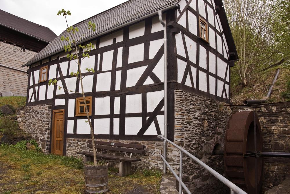 Die alte Mühle in Eiershausen.