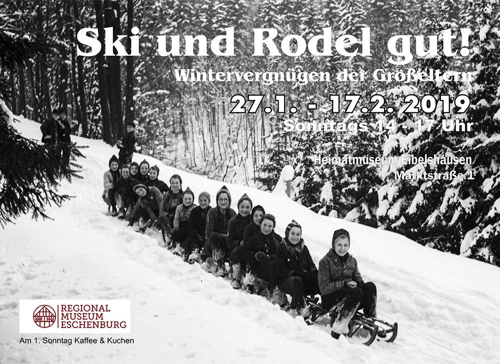 Ausstellung Ski und Rodel gut