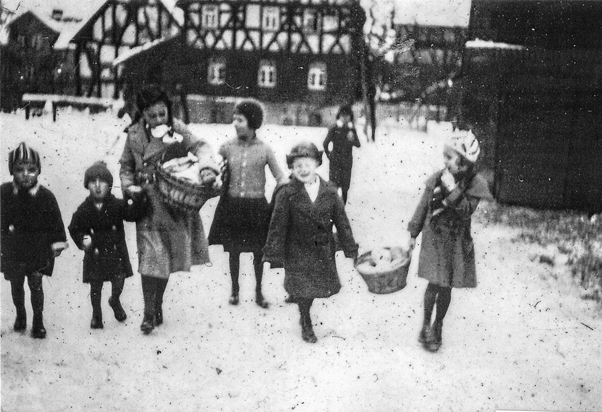 Patengeschenke holen 1920