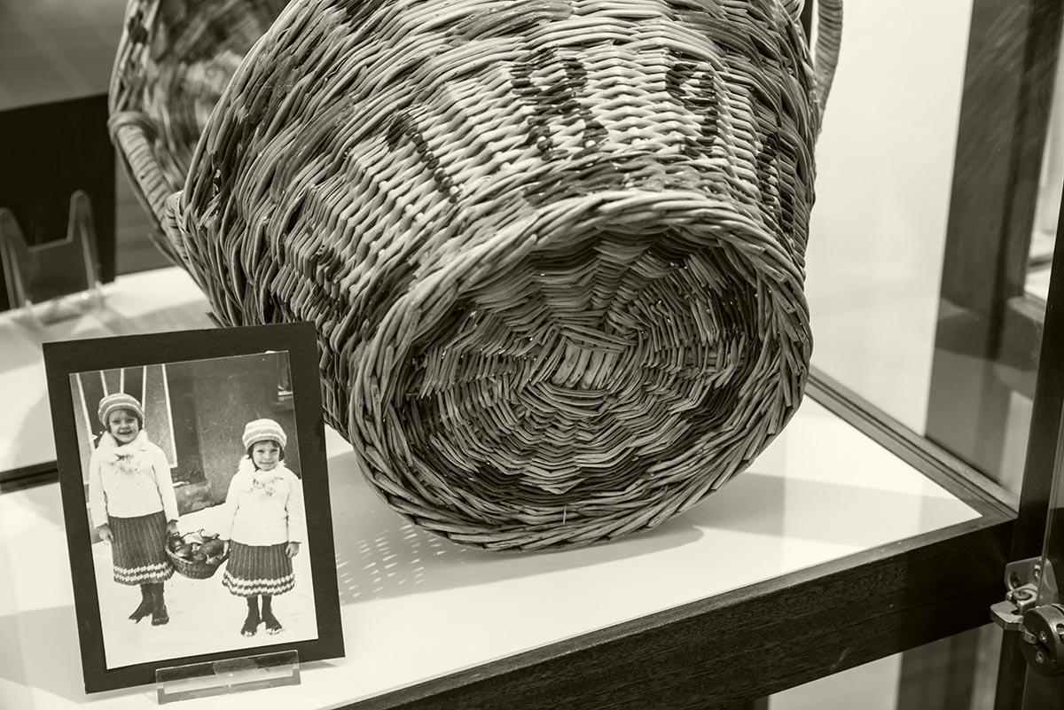 Weihnachtskörbchen 1896