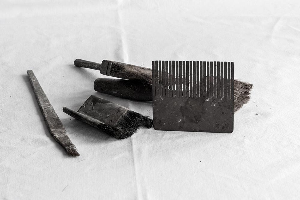 Werkzeuge zum Marmorieren