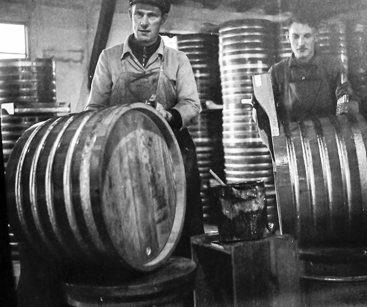 Produktion der Bottiche in der Firma Holighaus